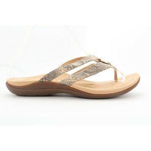 Abeo Brenda Slides Sandals Cream Size 8.5 (EP )